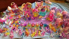 HUGE My Little Pony Lot 150+ Pieces 69 Ponies Trains Car Buildings Mega Bundle
