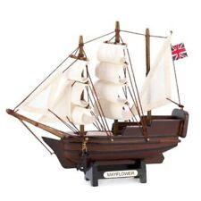 HOME NAUTICAL DECOR MINI MAYFLOWER SHIP MODEL