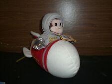 Universal Studios Plush Curious George Astronaut/Rocket Ship WITH SOUND