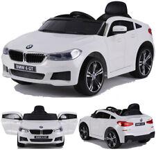 BMW GT 640i SUV Kinderauto Kinderfahrzeug Kinder Elektroauto mit Türen 12V Weiss