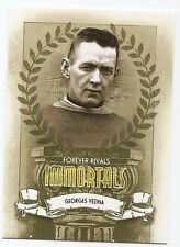 12/13 ITG FOREVER RIVALS IMMORTALS Georges Vezina #I1