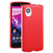 New Translucent Rubber Gel Silicone Frame TPU Skin Cover Case for Google Nexus 5