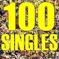 100x Vinyl-Singles mit Cover, Paket Sammlung Konvolut Musik-Juke-Box Dekoration!