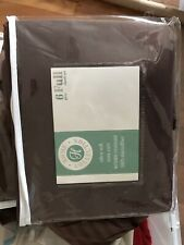 Ultra Soft 100% microfiber Pillow case set (3) + full sheet Brown 4 pieces