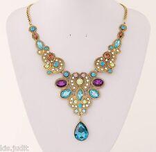 Bellissima collana indiana modello girocollo  - Multicolore - India