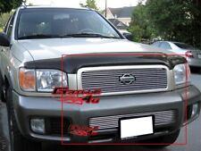 Fits 00-01 Nissan Pathfinder Billet Grille Combo Upper+Lower