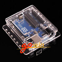 10PCS Clear Acrylic Box Enclosure Transparent Case Shell F Arduino Uno R3 Board