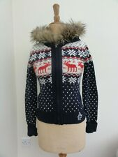 Abercrombie and Fitch Ladies Nordic Zip-thru Hoodie - Size M