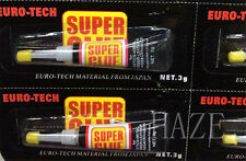 3 pcs 502 Cyanoacrylate Adhesive Super Glue Strong Adhesion Within Seconds