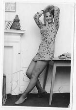 JIBBY BEANE Rare Signed Photo - Sexy 1960s English Model and Art Scene Queen