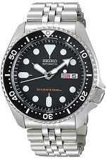 SEIKO SKX007K2,Men's Diver,Automatic,Stainless steel,Rotating Bezel,200m WR