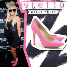 Stella McCartney Hot Pink Platform Pumps Heels EU 36.5 /  US 6.5 Lady Gaga Neon