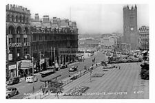 pt2826 - Deansgate Gardens & Cathedral , Manchester , Lancashire - photo 6x4
