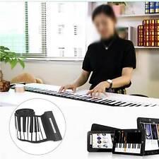 Portable 88 Keys Full Size Electronic Piano Keyboard Music Piano USB Plug