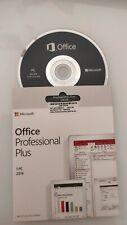 MICROSOFT OFFICE 2019 Professional PLUS DVD BOX ORIGIN 1pc. RETAIL multilanguage