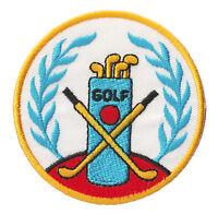 Écusson patche Golf club sport patch thermocollant brodé badge