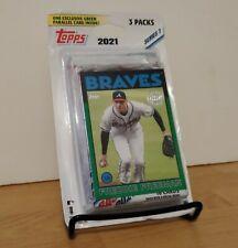 Topps 2021 Baseball Series 1 BLISTER Hanger 3 Cellos Aaron Judge 1986 Yankees