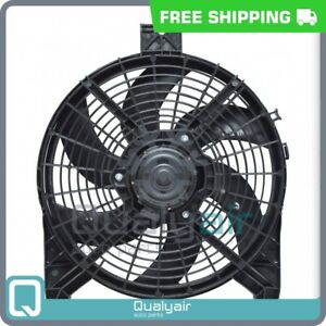 AC Radiator-Condenser Fan fits Nissan Armada QU