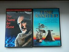 2 x Sean Connery DVD Sammlung Film Klassiker Time Bandits / Der Name der Rose