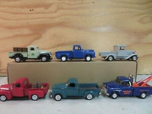 SET OF 6 (1:43 / O SCALE) AUTOS TRUCKS FOR YOUR K-LINE LIONEL MTH LAYOUT LOT D