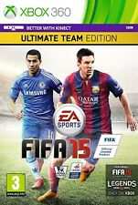 FIFA 15 Ultimate Team Edition XBOX 360 Video Game Original UK Release Mint Cond