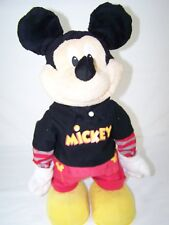"""Fisher-Price Disney Mickey Mouse Mechanical Walking Talking 18"""" Tall"""