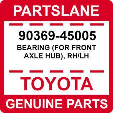 90369-45005 Toyota OEM Genuine BEARING (FOR FRONT AXLE HUB), RH/LH