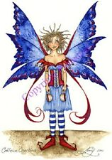 Amy Brown Caffeine Overload Fairy Greeting Card Faery Coffee