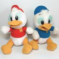 Ducktales plush soft toy doll Huey Dewey Louie Duck Disney Vintage