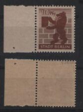 Postfrische Briefmarken aus Deutschland (ab 1945) aus dem Gebiet der SBZ mit Bären-Motiv