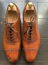 Edward Green Canterbury Light Brown Shoes UK8/US8.5 E888 Last
