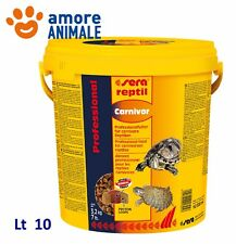 Sera reptil Carnivor 10 litri - Mangime per Rettili Carnivori