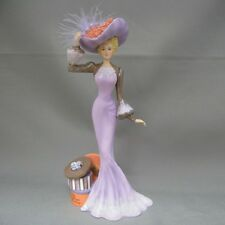 A Beautiful Bonnet - Ladies of the Lamplight Figurine  Thomas Kinkade