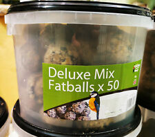 50 x Deluxe Mix Fatballs from the Grumpy Gardener in a tub. Feed the birds