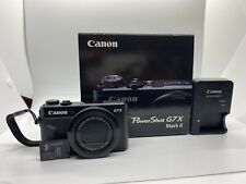 Canon PowerShot G7 X Mark II 20.1 MP Digital Camera - Black