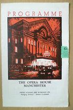 The Opera House Manchester 1951 Programme- RAM GOPAL .