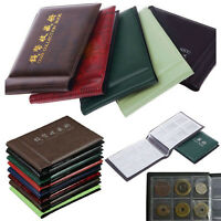 Fashion 60 Coin Money Penny Holder Storage Collecting Collection Album Book 1PCS