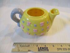 Fisher Price Fun with Food Musical Tea Teapot Pot Yellow Sounds Toy Part Pink