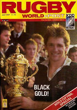 More details for rugby world magazine july 1987 - rugby world cup david kirk nz all black