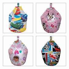 Girls and Boys Character Bean Bags - Many Designs from £9.95
