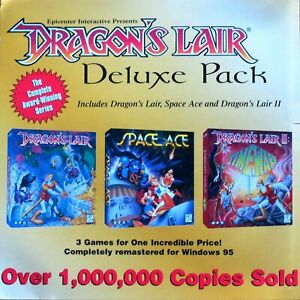 dragons lair deluxe USED & deus ex complete & sniper nazi zombie army new&sealed