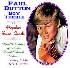 Paul Dutton Boy Soprano / Treble  Popular Christmas Carols 1970