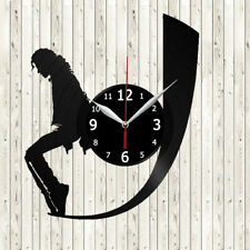Michael Jackson Vinyl Record Wall Clock Decor Handmade 429