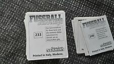 6x Aussuchen - Fußball - Panini Sticker Endphase 94/95