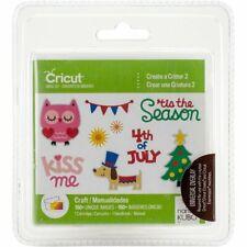 *New* Cricut CREATE A CRITTER 2 Cartridge Factory Sealed Free Shipping & Return