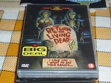 THE RETURN OF THE LIVING DEAD DVD UNUSED NEW Spanish English Italian GREAT