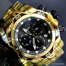 Invicta Reserve Venom Gen III Swiss MVT Black 52mm Gold Plated Steel Watch