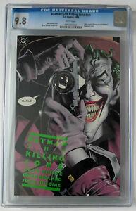 Batman: The Killing Joke CGC 9.8 - 1988 1st Print