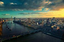 LONDON CITYSCAPE POSTER 24x36 HI RES