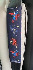 🌎💫⚡️Superman,Batman,The Flash (Justice League) Car Seat Belt Pad ⚡️💫🌎